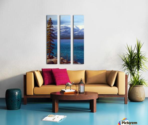 Lake Tahoe 1 Split Canvas print