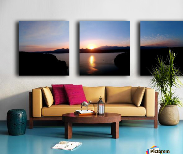 Pano Split Canvas print
