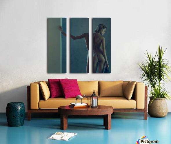 Chuchya Split Canvas print