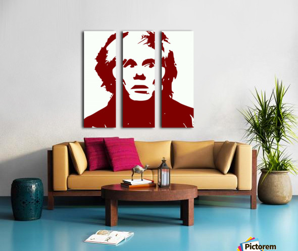 Andy Warhol Split Canvas print