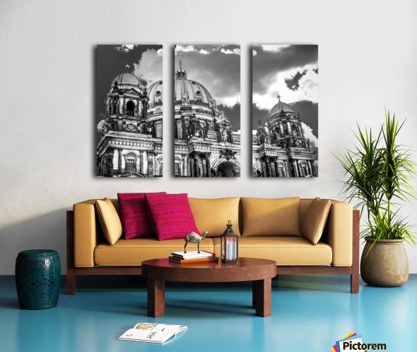 Berliner Dom Split Canvas print