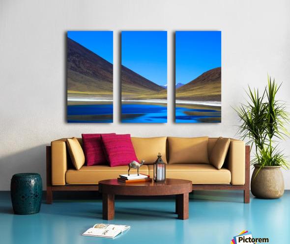 Laguna Meñiques Split Canvas print