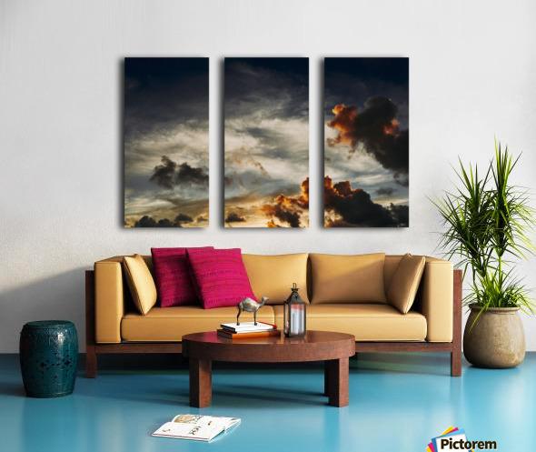Lanikai Sunrise Split Canvas print