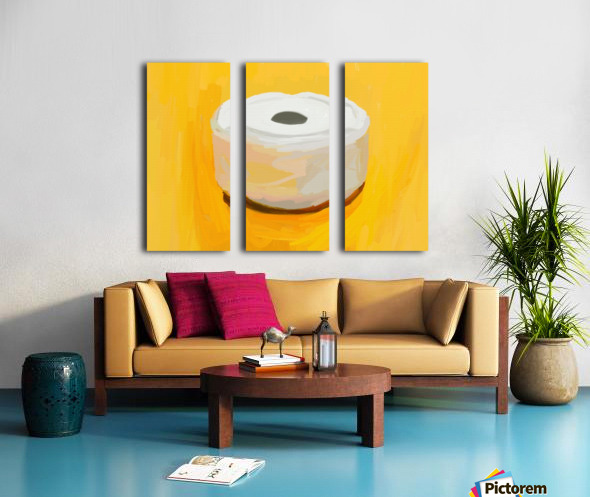 Ashtray Split Canvas print