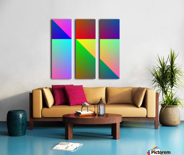 Spectrum Split Canvas print