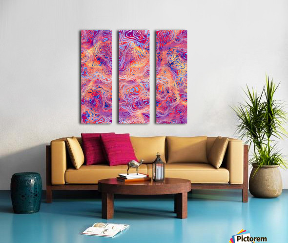 Abstract Marble IV Split Canvas print