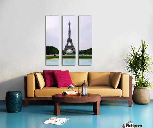 Eiffel from a distance Split Canvas print