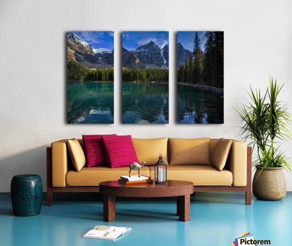 Moraine Lake  Split Canvas print