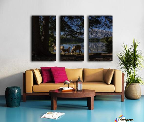 Lakeside  Split Canvas print
