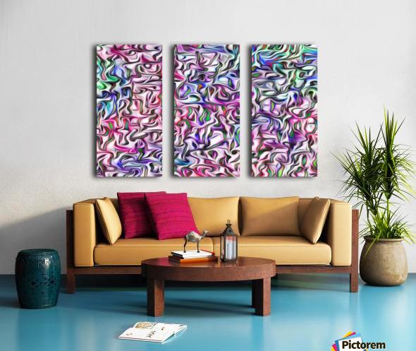 Psikedelix021 Split Canvas print
