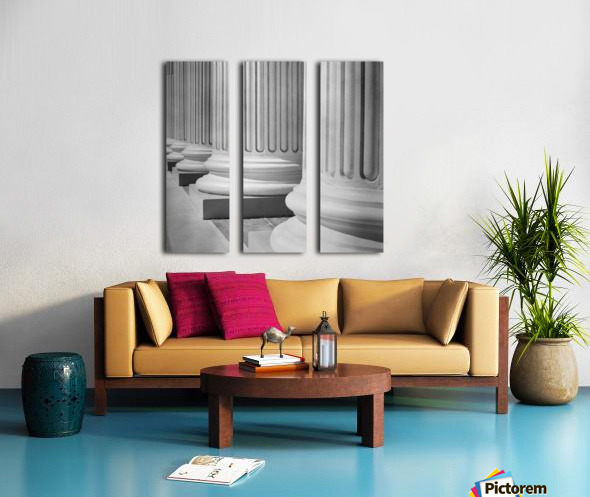 House Of Justice Split Canvas print