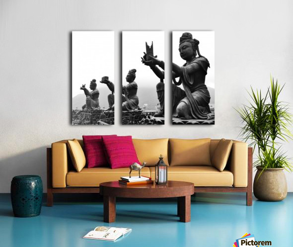 Offer for Buddha Split Canvas print