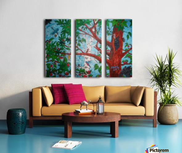 Nature and Peace Split Canvas print