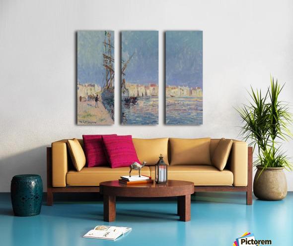 The Martigues, the Port of Ferriere Split Canvas print