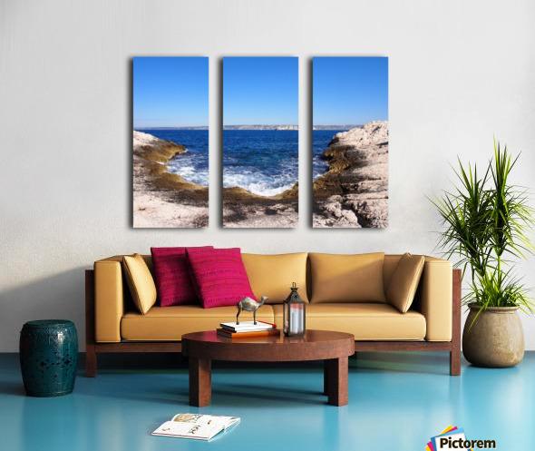 Turning Tide Split Canvas print