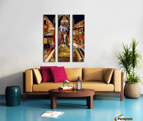 The Emperors New Clothes Split Canvas print