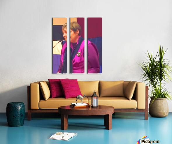 Town Meeting Nancy Split Canvas print