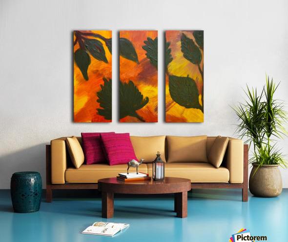 Fall Leaves. Jessica B Split Canvas print
