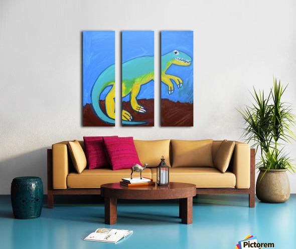 Dino. Dominic H Split Canvas print