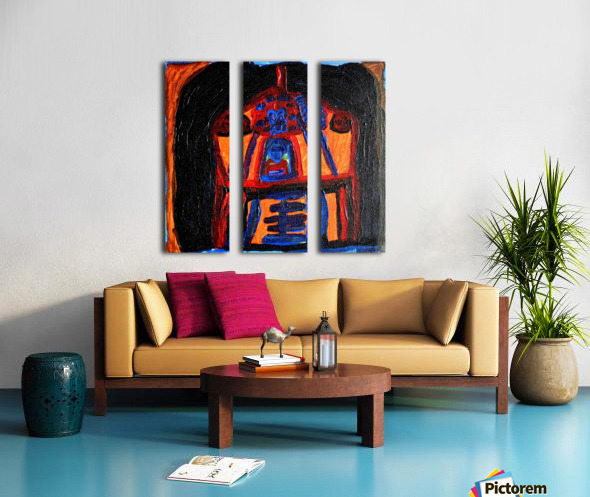 Water Lady. Neal S Split Canvas print