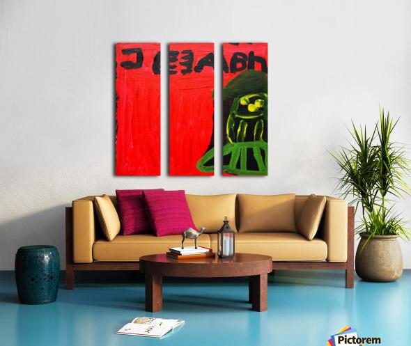 Michael Jackson. Neal S. Split Canvas print