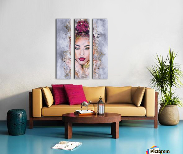 DREAMER Split Canvas print