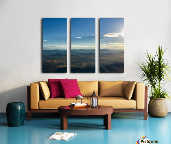 Looking Down Split Canvas print