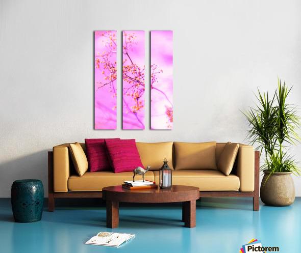 paint it pink  Split Canvas print