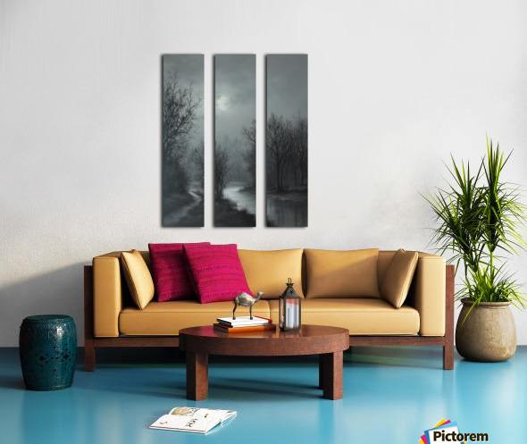Hint of Sunlight Split Canvas print