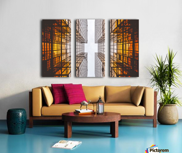 ARCHITECTURE Split Canvas print