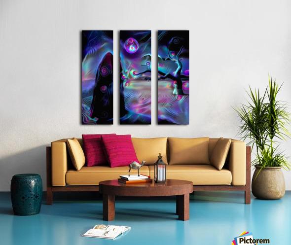 The Desert of Dreams Split Canvas print