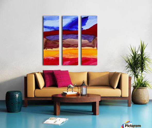 Fall Mountains. Anna B Split Canvas print