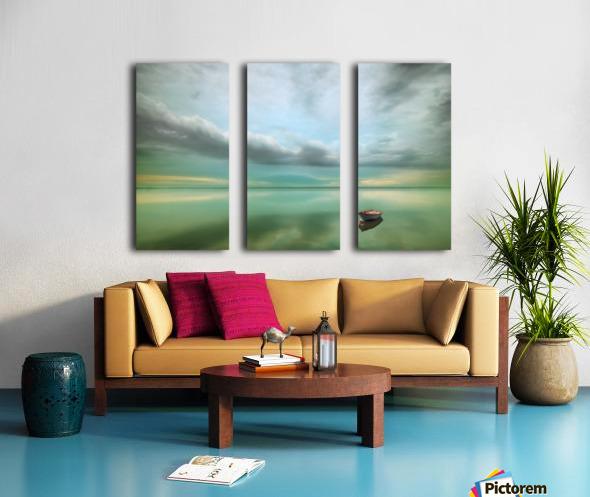 Boat... Split Canvas print