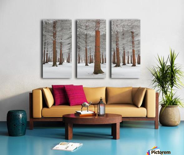magical forest Split Canvas print