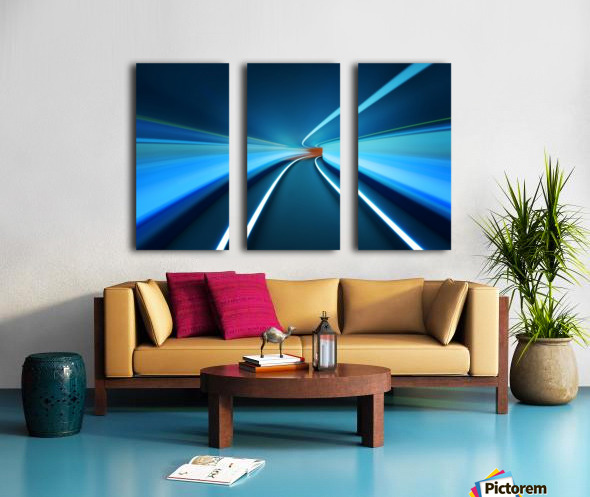Tunnel Vision Split Canvas print