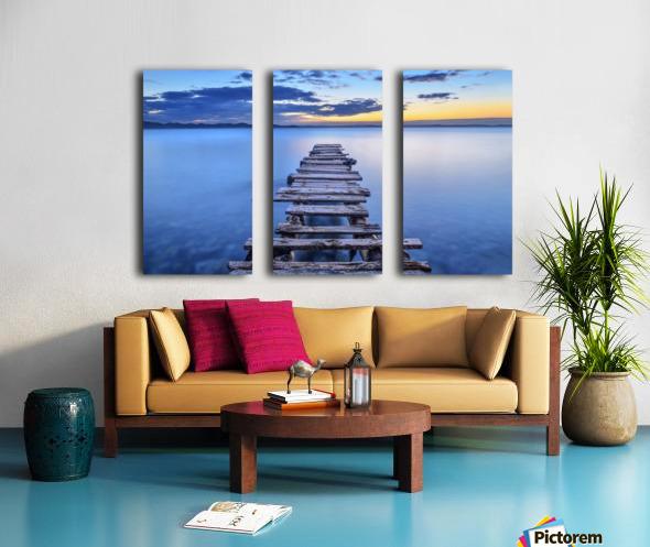 Pier Split Canvas print