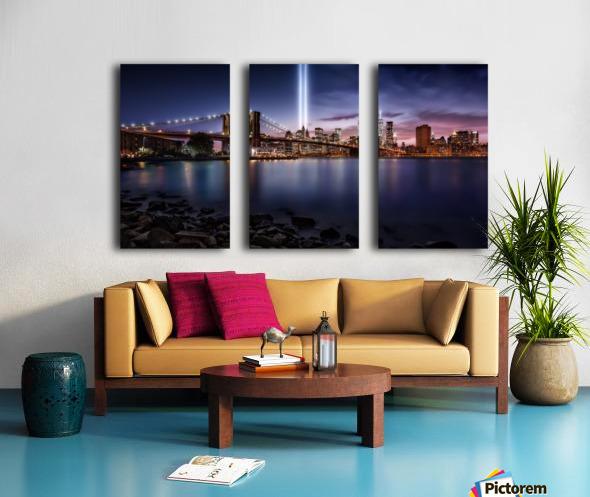 Unforgettable 9-11 Split Canvas print
