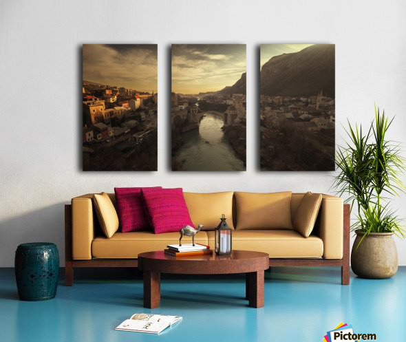 Mostar Split Canvas print