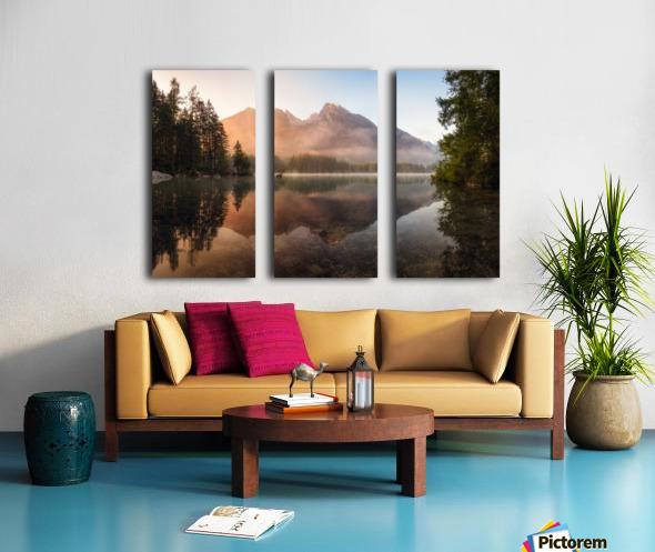 Glowing Mist Split Canvas print