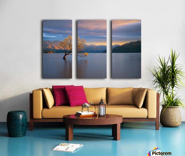 Morning Glow Split Canvas print