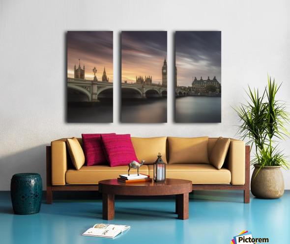 Big Ben, London Split Canvas print