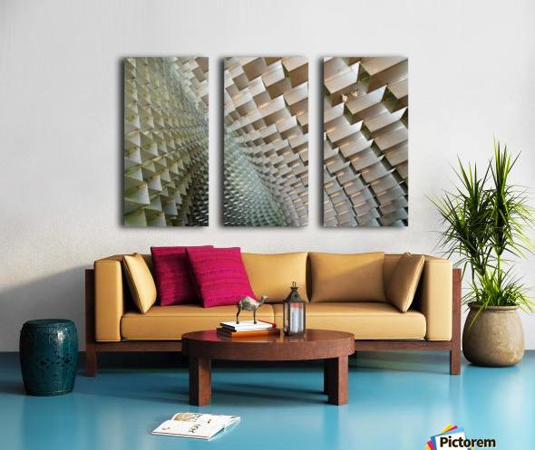 Serpentine Split Canvas print