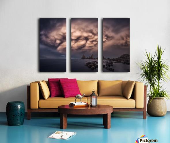 The Cloud Split Canvas print