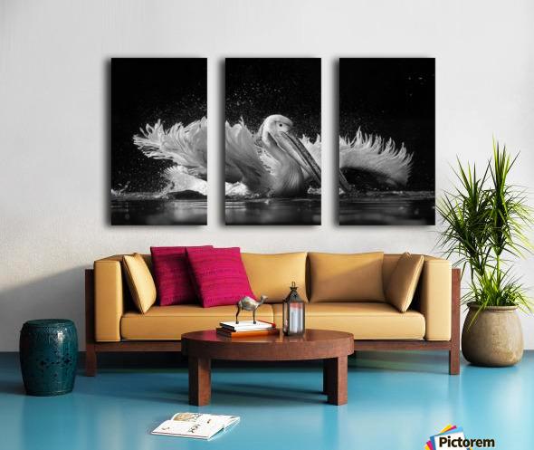 Refreshing Split Canvas print