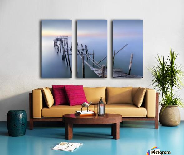 The Old Pier Split Canvas print