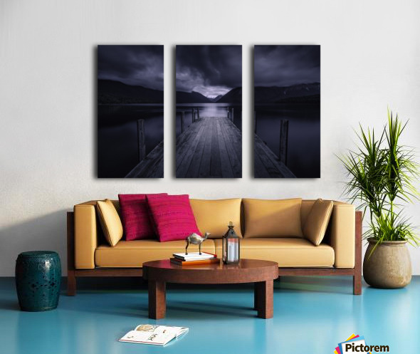 Storm Coming Split Canvas print