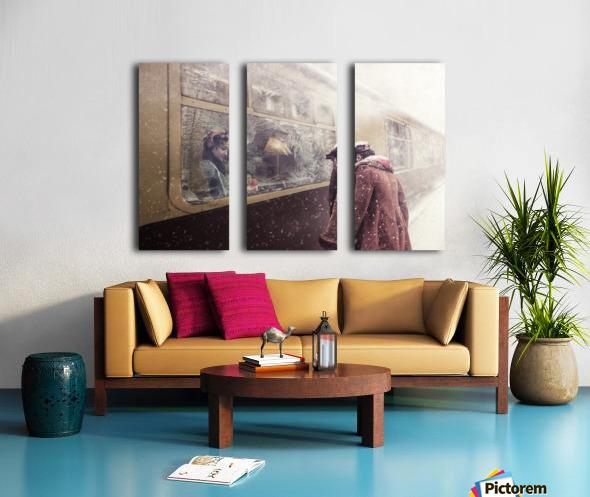 Take care Split Canvas print