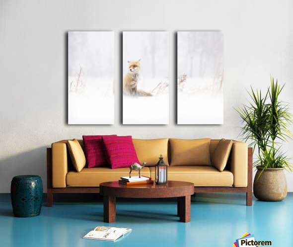 Waiting... Split Canvas print