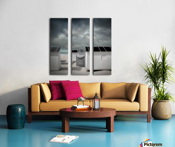 Waiting for summer Split Canvas print
