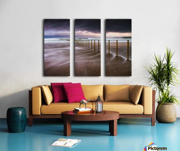 Portstewart Strand Split Canvas print